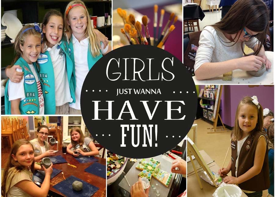 The Creativity Cafe - Creative Girl Scouts Activities