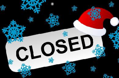 closed for christmas - Closed For Christmas