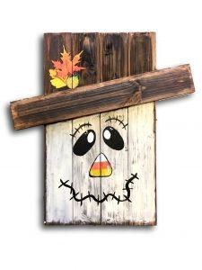 Board Art - Scarecrow The Creativity Cafe