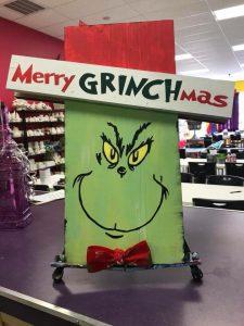 Board Art - Grinch The Creativity Cafe