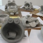 Clay Handbuilding - monster fish