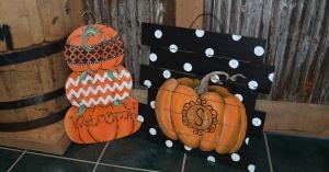 Board Art - Pumpkins