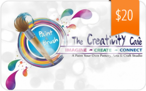Gift of Creativity - Creativity Cafe Gift Card